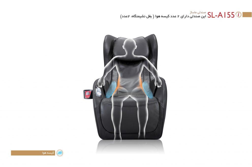 صندلی ماساژ آیرست