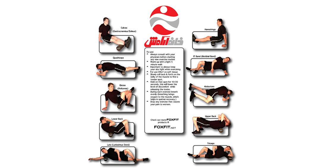فوم رولر : معجزه ی اثر بخشی تمرینات ورزشی