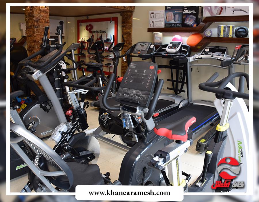 فروشگاه تجهیزات ورزشی خانه آرامش