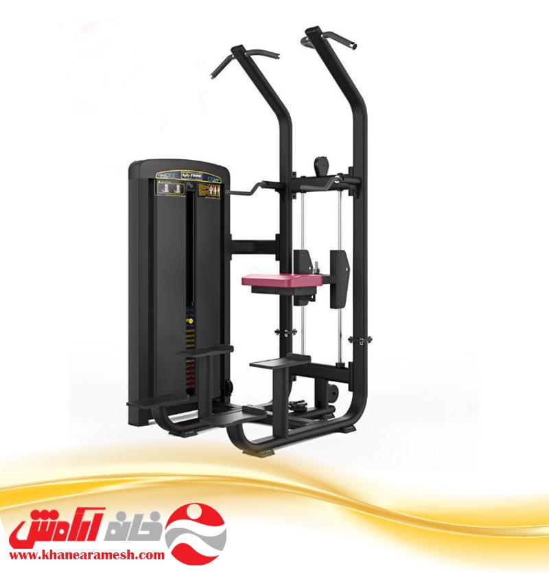 دستگاه بدنسازی باشگاهی پارالل و بارفیکس body strong BTM008
