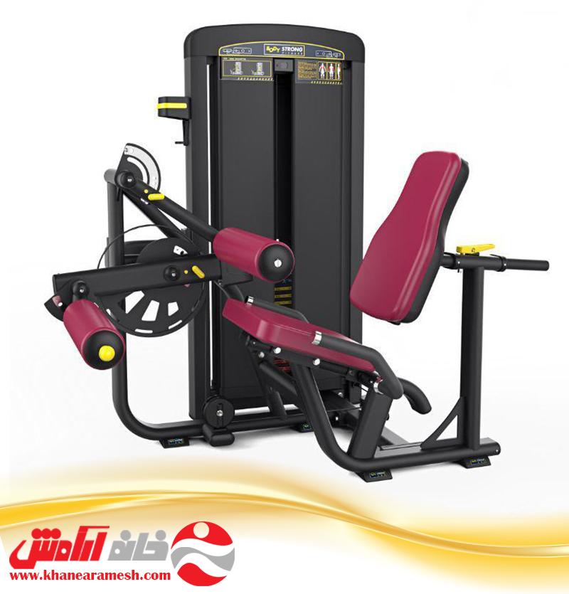 دستگاه بدنسازی باشگاهی  پشت ران نشسته body strong BTM 013