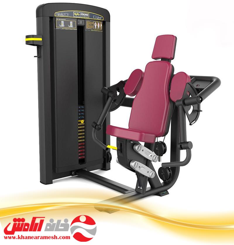 دستگاه بدنسازی باشگاهی  جلوبازو تک دست body strong BTM 006