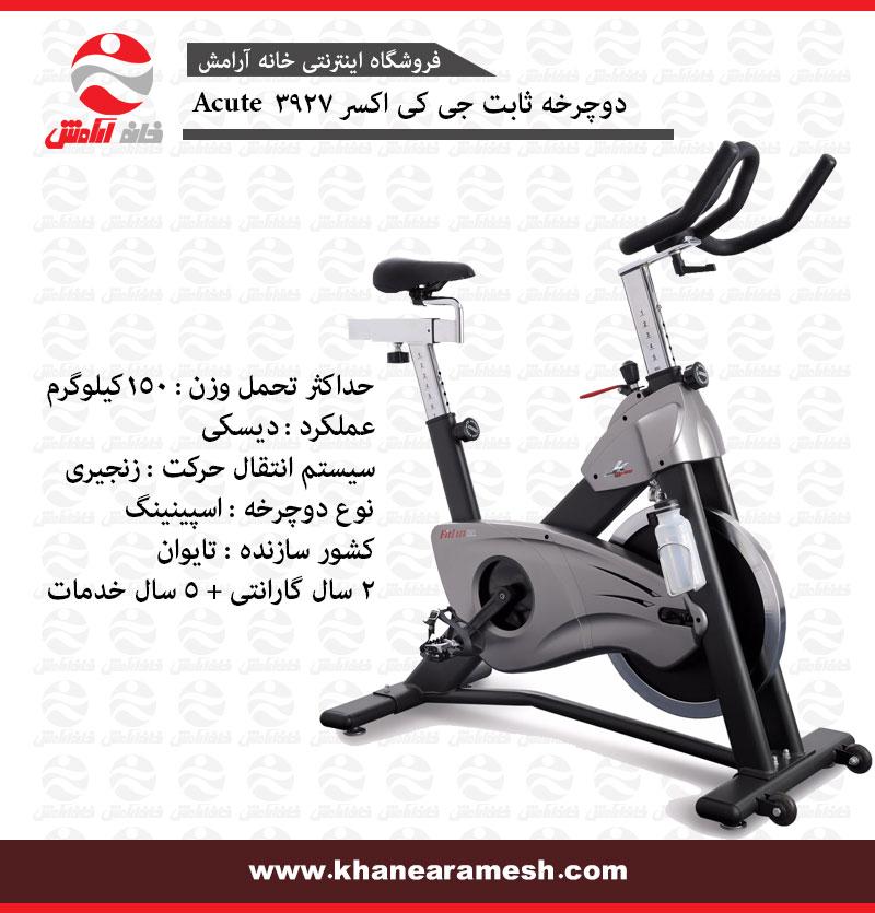 دوچرخه ثابت خانگی JKexer مدل Fitlux 3927