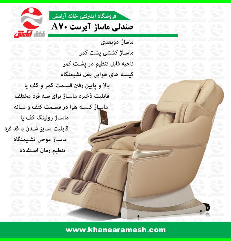 صندلی ماساژ آی رست
